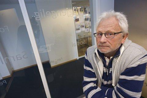 Ikke tilfreds: Kjell Olsen er ikke fornøyd med hudlegetilbudet i Follo-distriktet.foto:ole Kr. Trana