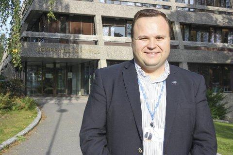 ENIGHET: Intense forhandlinger måtte til, men nå er det klart at Thomas Sjøvold (H) er Oppegårds nye ordfører. FOTO: VIVI RIAN