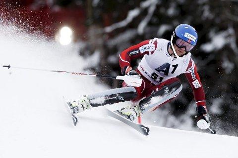FART: Jonathan Nordbotten fikk virkelig fart på skiene i første omgang i Levi. 27-åringen ligger på tiende plass før 2. omgang. Her fra fjorårssesongen.