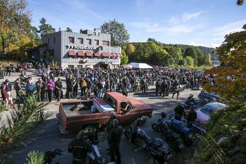 Gravøl: Søndag 30. september 2012 var siste åpningsdag for Tyrigrava kro og pub. FOTO: AUDUN BRAASTAD