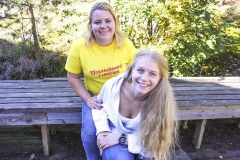 Står sammen: Line Storehaug og Ida Lindtveit var begge under 25 år da de toppet Krf-listen i Oppegård. – Nå har vi en styrke i kommunestyret ved at vi er flere unge som støtter hverandre. Dette viser at unge tar ansvar og driver god politikk, sier Lindtveit.