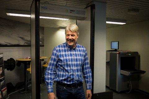 Bøye Einang er daglig leder i Selmatec Securities. Bedriften, som er lokalisert på Berghagan på Langhus, går så det griner.