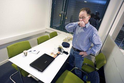 Kritisk: Ski Høyres Hans Martin Larssen er kritisk til rådmannens budsjettforslag. Nå vil de sende budsjettet til lovlighetskontroll hos Fylkesmannen.foto: Ole Kr. Trana