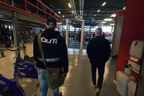Aksjon: Politiet vil være til stede under helgens kåring av Norges sterkeste i Ski. Arkivfoto: Ole Kr. Trana