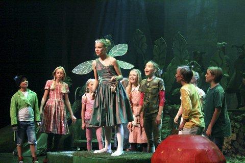 LEDER: OPAL leder foreløpig i avstemningen. Høstens oppsetning av Peter Pan satte publikumsrekord. FOTO: KARIN HANSTENSEN