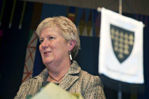 FORNØYD: Rådmann Anne Skau, sier seg godt fornøyd med regnskapsresultatet for 2015.