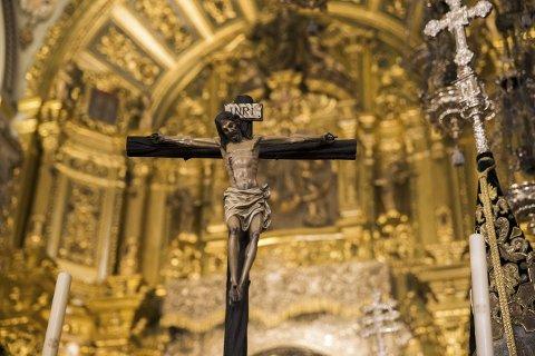 Gjenoppsto: Man kan ikke forklare kristendommens identitet og spredning uten troen på at Jesus ble vekket opp fra de døde, og at det innledet den siste tiden frem til Gudsrikets ankomst, mener teologi-professor. FOTO: Berit Roald / NTB scanpix