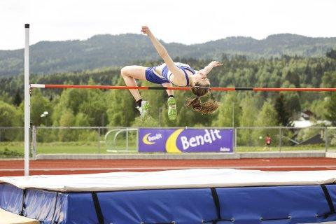 Caroline Fleischer satte ny personlig rekord i juni, da hun gikk over 1.83 i Finland.