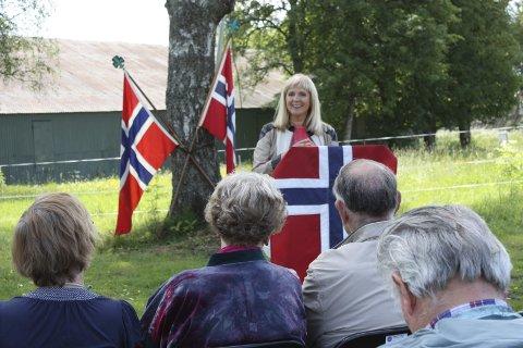 Gjest: Stortingsrepresentant Gunvor Eldegard er på plass i år også.