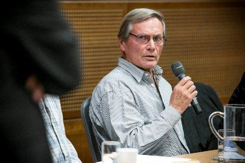 REAGERER: Ola Øygard i Pensjonistpartiet.