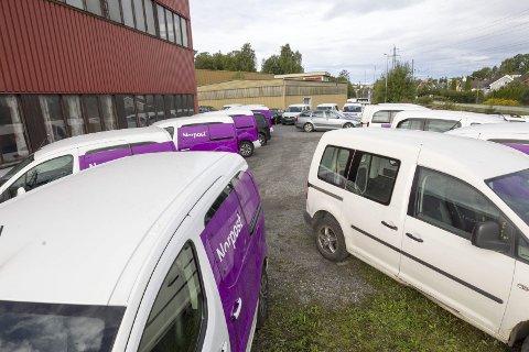 Oppsagt: Norpost avdeling Ski holder til i Industriveien. Her blir 16 ansatte sagt opp. FOTO: Bjørn: V. Sandness