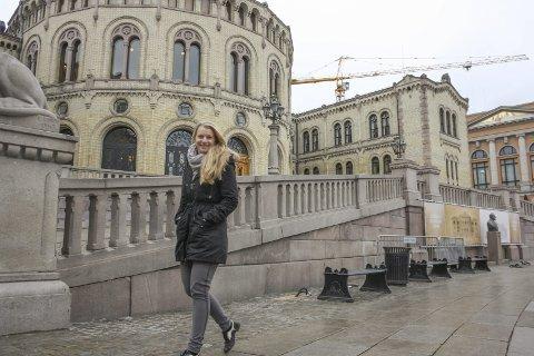Ikke til Stortinget: Ida Lindtveit fra Oppegård var klar for å kjempe om en taburett for Akershus KrF på Stortinget, men tapte mot Ingunn E. Ulfsten fra Gjerdrum. FOTO: VIVI RIAN