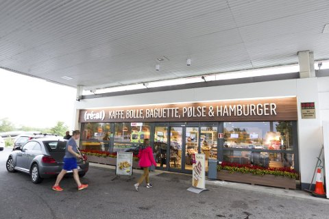 Shell-stasjonen på Korsegården