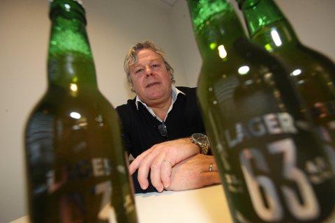 ØLGRÜNDER: Helge Olsen fra Langhus er markeds- og salgssjef i Brewery International på Ulven i Oslo.