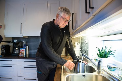 DÅRLIG: Eivind Wremer synes ikke noe om behandlingen kommunen gir innbyggerne som klager på høyt vannforbruk.