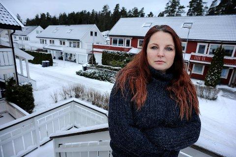 TENKER NYTT: Nann Jovold fra Langhus, håper en volds- og mobbeapp kan gjøre det tryggerer for ungdom i Follo.