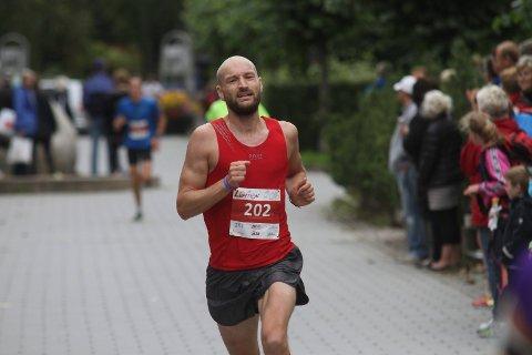 Jann Post imponerer som løper. Her i aksjon på hjemmebane under SkiLøpet for et par år siden.