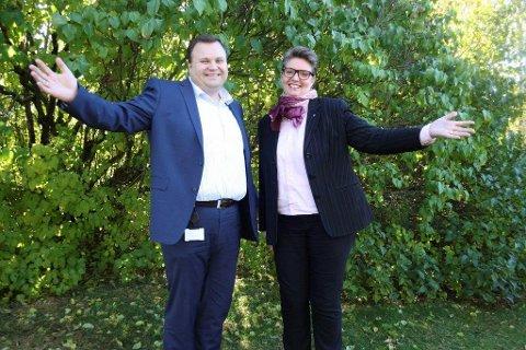 KLAR: Nordre Follos nye kommunestyret vil bestå av 47 medlemmer.