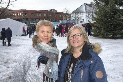 ILDSJELER: Kaja Kristine Espenes (til venstre) og Anne-Lene Bjørklund har begge gjort en stor jobb for at flyktningene som kommer til Europa skal få det bra.