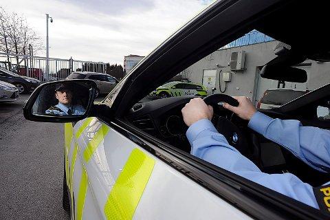 TRENGER DIN HJELP: Kristoffer Haakonsen i Follo-politiet trenger din hjelp for å finne britene. FOTO: Ole Kr. Trana