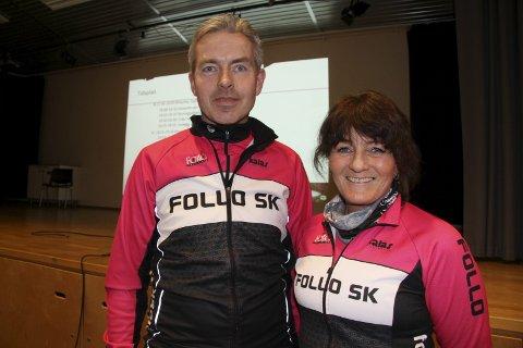 UNGDOM OG ALLSIDIGHET: Leder Oskar Kleven og Marianne Sirnes Engen lover at Follo SK tenker både på allsidighet og rekruttering.alle foto: henrik aasbø