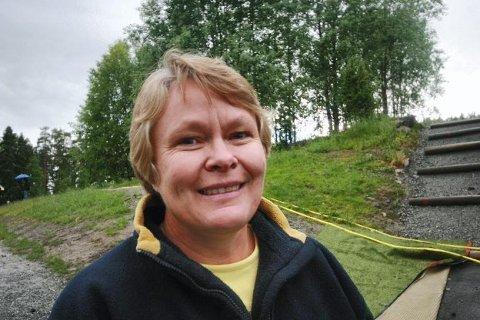 GODT STEG: Nina K. Vøllestad, leder i Oppegård Idrettsråd, mener kommunestyrevedtaket er et godt steg i riktig retning.