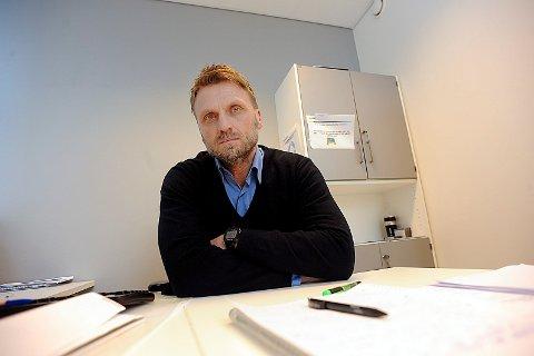 ETTERRETNING: Lars Abelsen, leder av etterretningen ved politiet i Follo.