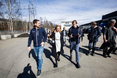 SAMFUNNSANSVAR: Arbeidsminister Anniken Hauglie (H) roser Kolonial.no for måten de rekrutterer ansatte på. Foto: Tom Gustavsen