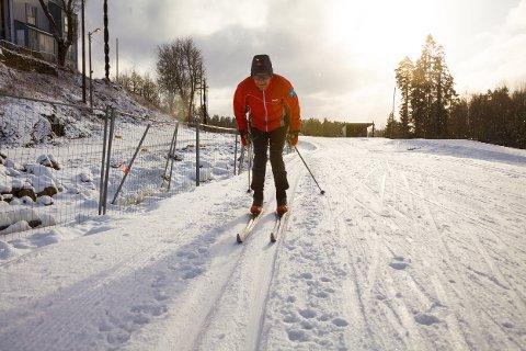 Det er fortsatt muligheter for en skitur i påsken, uten å dra til fjells. Bildet er fra Greverud tidligere i år.