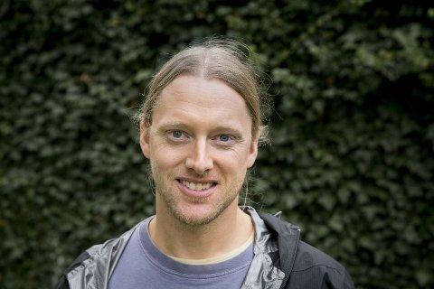 Nyskapende: Førstelektor Ronny Steen har fått utviklet en app til undervisningen om hakkespetter. Slik skal studentene lære mer.