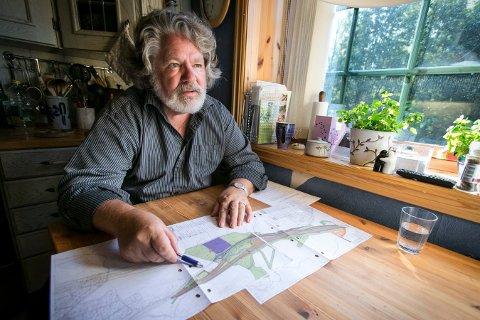 Beboer i Langhusveien blir berørt av arbeidet med ny togtunnel
