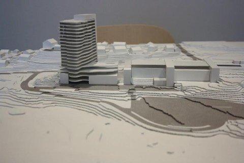 LANDEMERKE: Rådmannen mener The Wells 22 etasjers hotell vil bli et landemerke på Fløysbonn og en attraksjon både i nabolaget og i Follo-regionen.