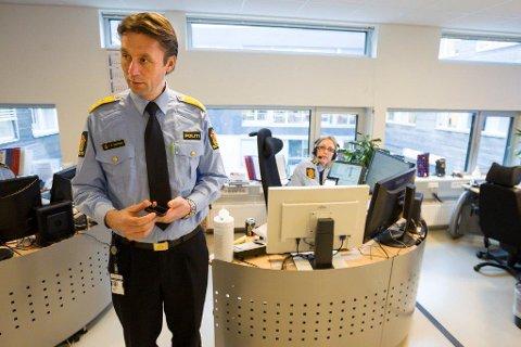 SIER NEI: Politimester Steven Hasselberg kommer ikke til å oppgi hvor stor politidekningen er i Follo etter sammenslåingen med Romerike og Østfold.