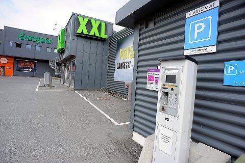 AUTOMAT: Etter sigende er det denne automaten som 19-åringen fra Oslo ikke så.