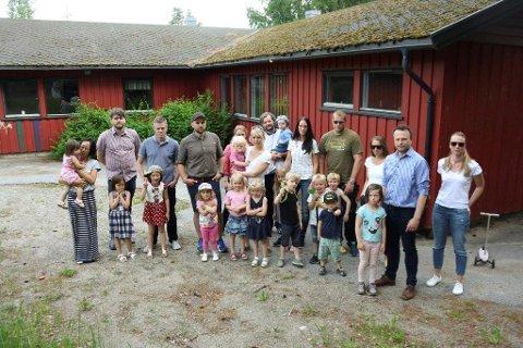 SLITNE OG SINTE: Foreldrene i Greverudlia barnehage er lei av midlertidighet og stadige utsettelser for nye Greverudlia barnehage.