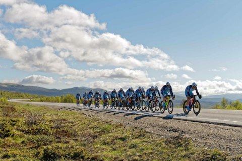 I AKSJON: Her er Team Follo på vei til Oslo.