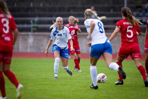 Karina Sævik og Kolbotn åpnet bra, men det endte med et 1-0-tap hjemme mot Arna-Bjørnar.