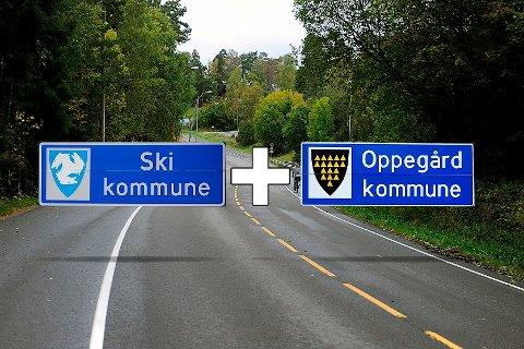 ENGASJERER: Kommunesammenslåing er noe som engasjerer befolkningen i Ski og Oppegård.