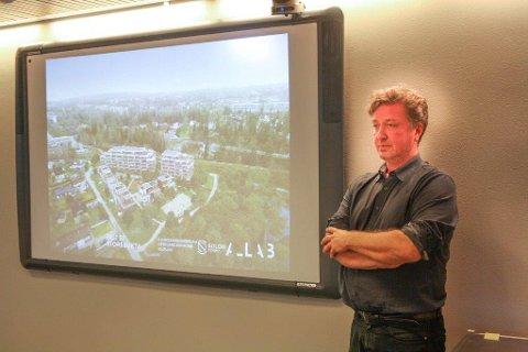 FINESTE: Arkitekt Geir Haaversen fra arkitektfirmaet A-lab mener Storebukta er et av de fineste områdene på hele Kolbotn.