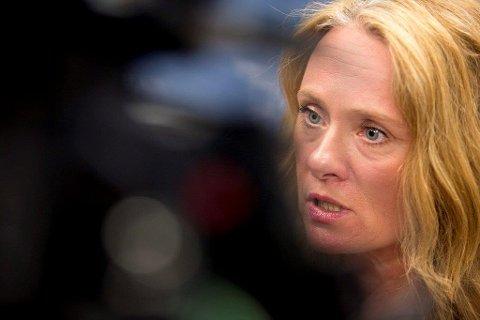Anniken Hauglie (H) fra Ski er arbeids- og sosialminister i regjeringen.