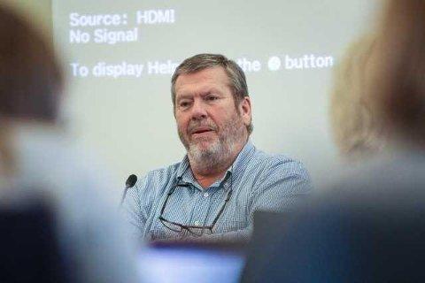 HELE FOLLO: Leder i Follorådet, Vestby-ordfører Tom Anders Ludvigsen vil ikke jobbe for Nordre Follo spesielt, men argumenterer gjerne for at statlige arbeidsplasser skal flytte til Follo-regionen.