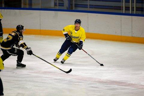 Fredrik Nyberg sendte Ski i ledelsen 7-6 med drøye fem minutter igjen. To baklengsmål i slutten av kampen sørget for et nytt Ski-tap.