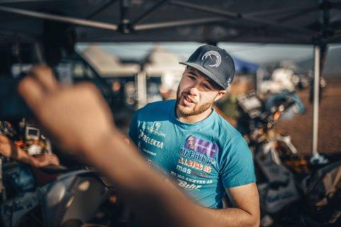 Kristian Felix Jensen under Africa Race 2018. Det ble en drømmetur, selv om han opplevde et mareritt underveis.