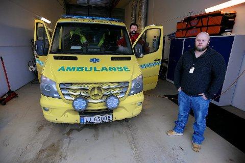 UROVEKKENDE: Arbeidsmiljøet for ansatte ved ambulansetjenesten i Nordre Follo er urovekkende dårlig.