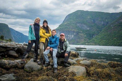 REALITY: Familien Hasfjord Lia vant første konkurranse da første episode av NRK-serien Familieekspedisjonen ble sendt tirsdag kveld.