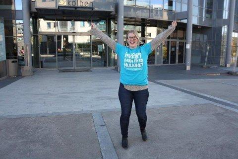 GRATIS: Ida Madeleen Moe i Oppegård frivilligsentral inviterer til gratis gjenbruksbutikk i Kolben annenhver torsdag.