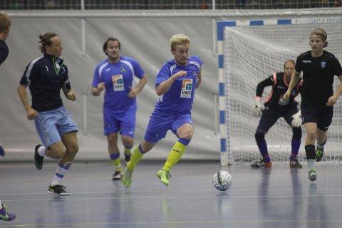 SERIESTART; Iver Strandheim og Ski Futsal debuterer i 1. divisjon lørdag.