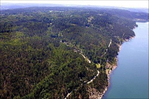 VANN OG AVLØPSLEDNING: Ledningen skal legges i fjorden fra Oppegård båthavn til Bekkensten og videre til høydebasseng ved Vestenga idrettsplass.