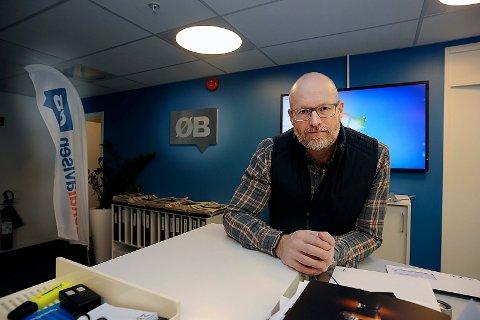 VIL HØRE FRA DEG: ØBs redaktør Martin Gray og resten av staben i redaksjonen vil høre fra deg.