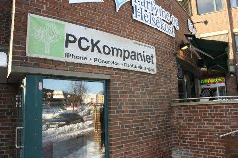 VANT: Henrik Huseby i PC Kompaniet ble saksøkt av Apple, men vant i retten fredag.